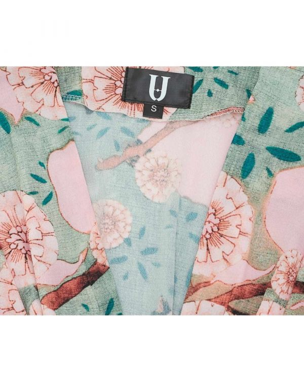 Floral Print Two Piece