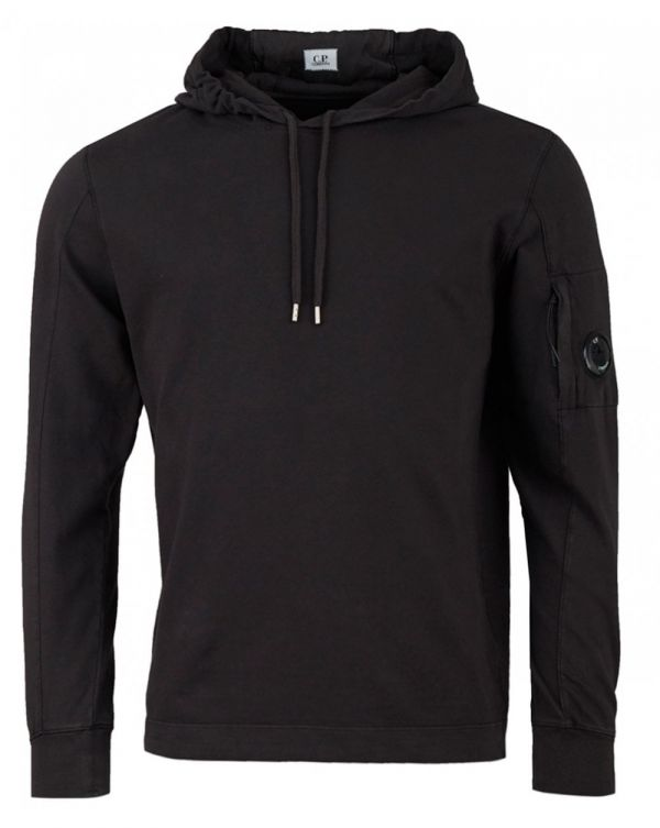 Arm Lens Pull Over Hooded Top