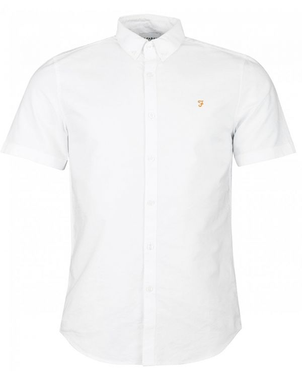 Brewer Short Sleeved Oxford Shirt