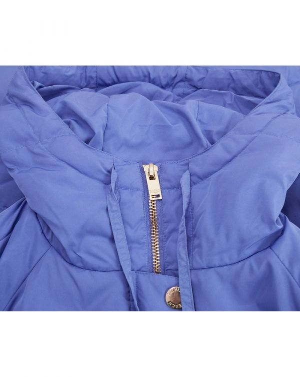 Chrea Long Down Hooded Jacket