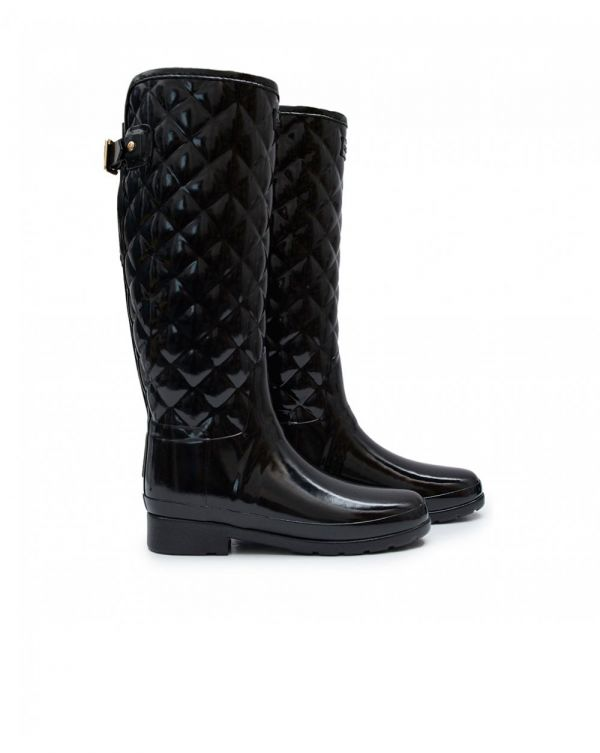 Original Refined Quilted Gloss Boots