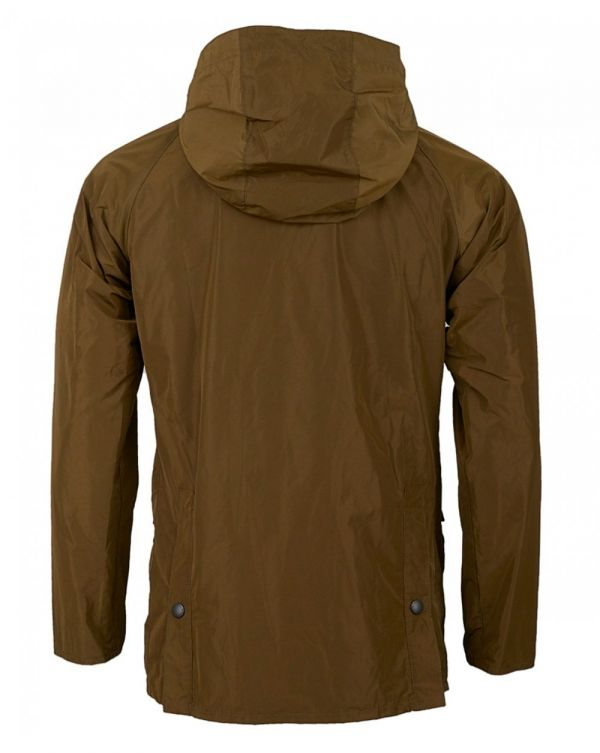 Hooded Nylon Bedale Jacket