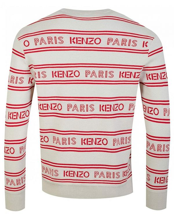 All Over Kenzo Jacquard Jumper