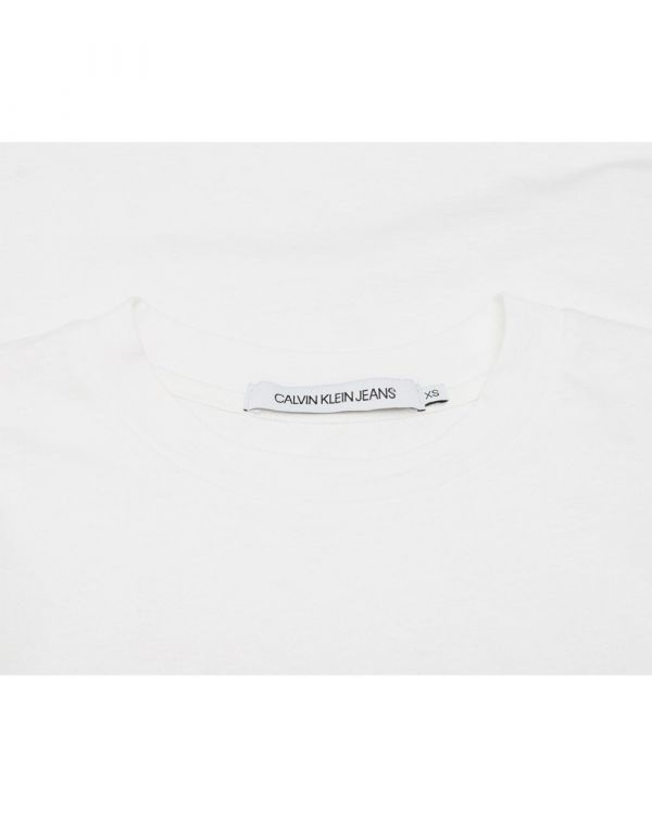 Curved Logo Straight T-shirt