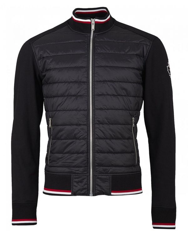 Quilted Sweat Jacket