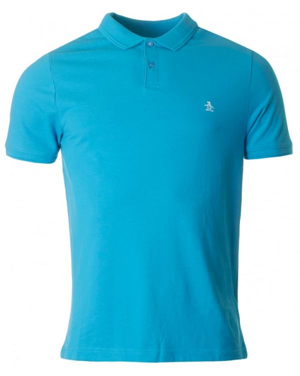 Raised Rib Short Sleeved Polo