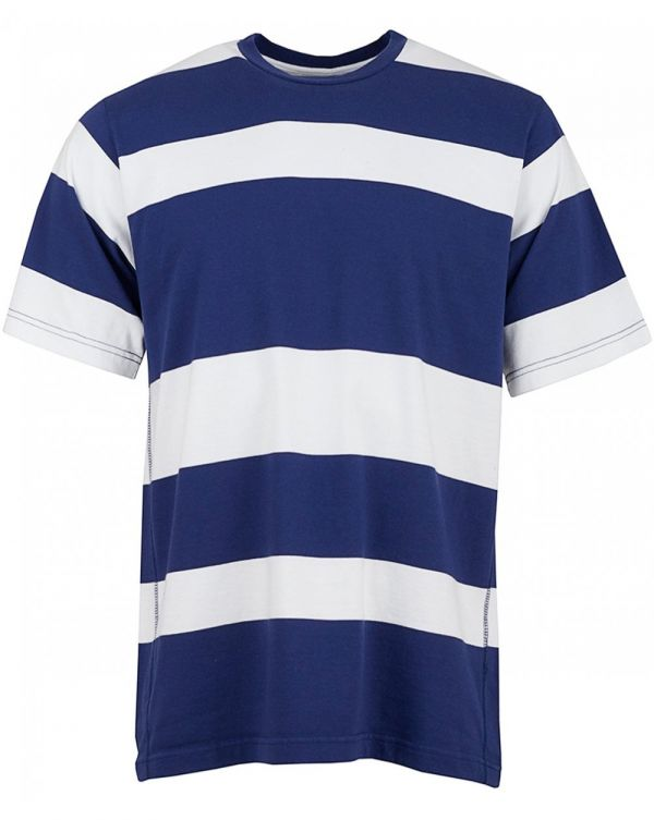 Loose T Short Sleeved Striped T-shirt