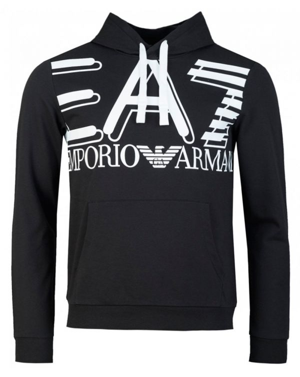 Train Large Logo Pullover Hoody
