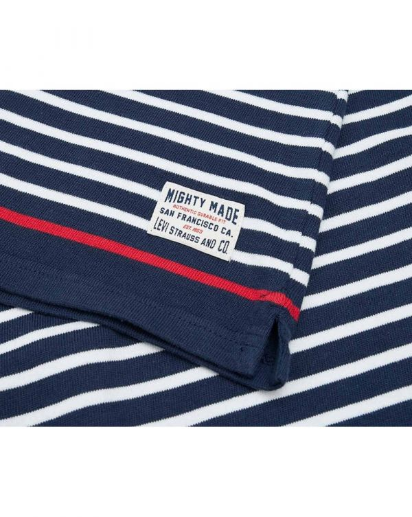 Striped Logo Rugby Shirt
