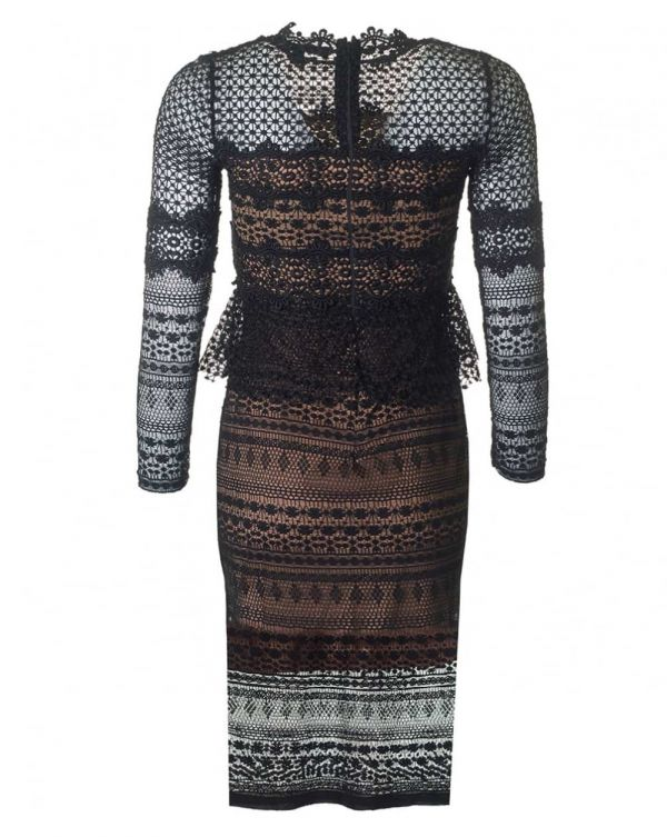 Petra Lace Long Sleeved Dress