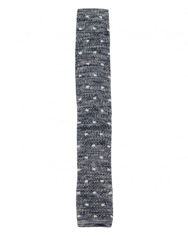 Spotty Knitted Tie