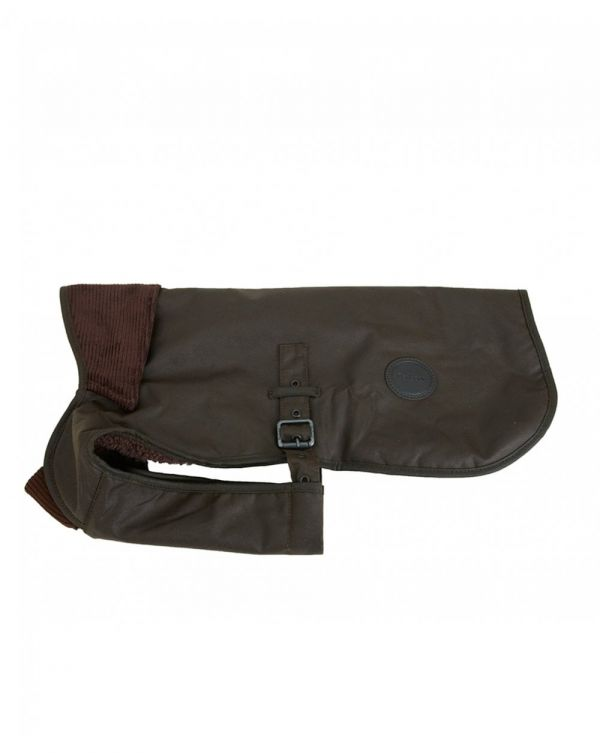 Utility Fleece Lined Wax Dog Coat