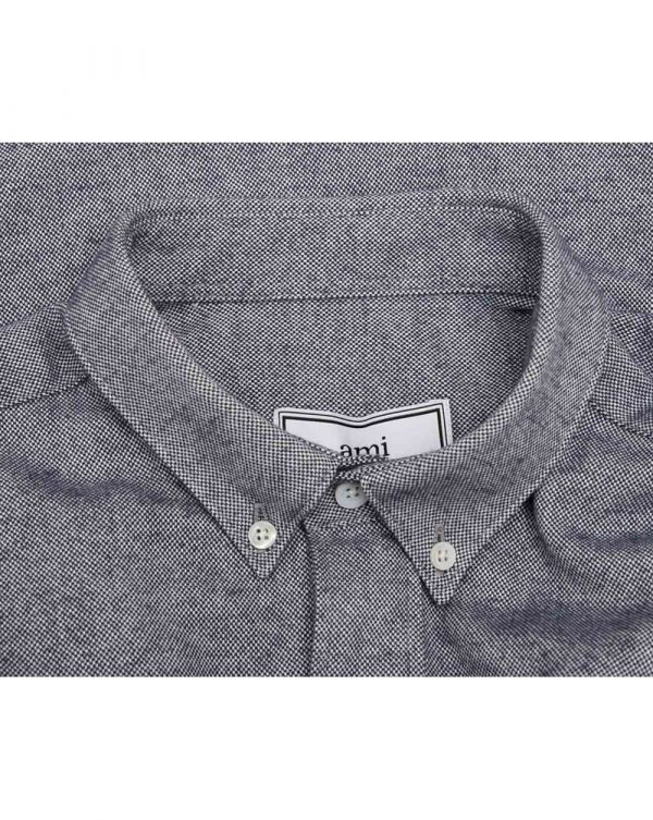 Large Heart Logo Oxford Shirt