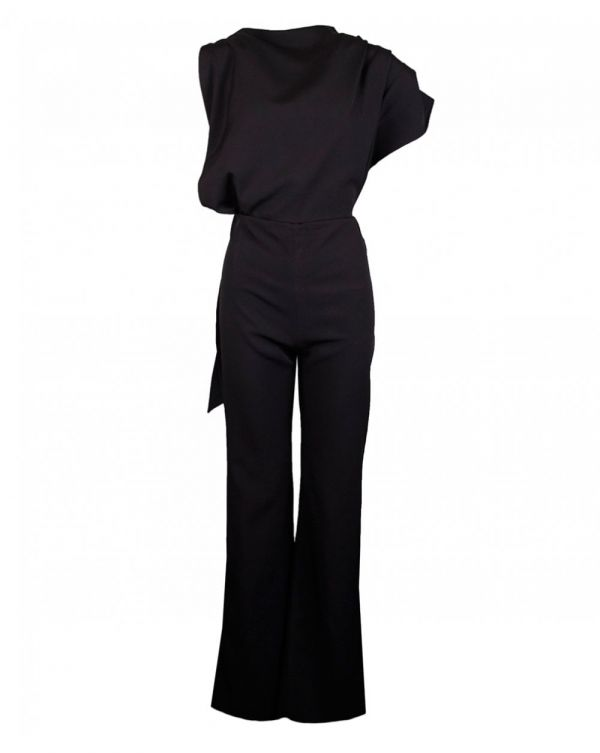 Callie Asymmetric Tailored Jumpsuit