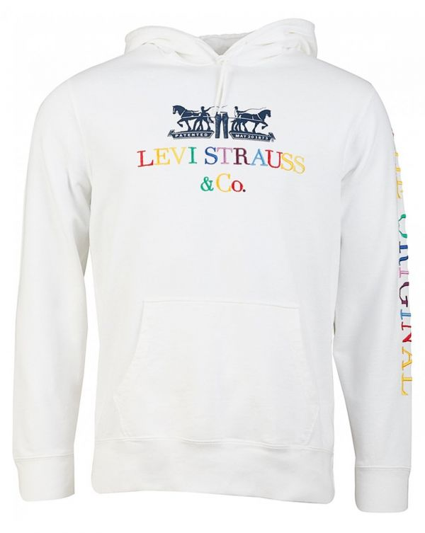 Levi's Red Tab 90's Multi Colour Logo Pullover Hoodie