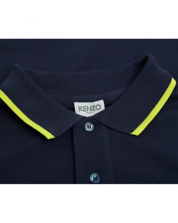 Tiger Crest Tipped Polo Shirt