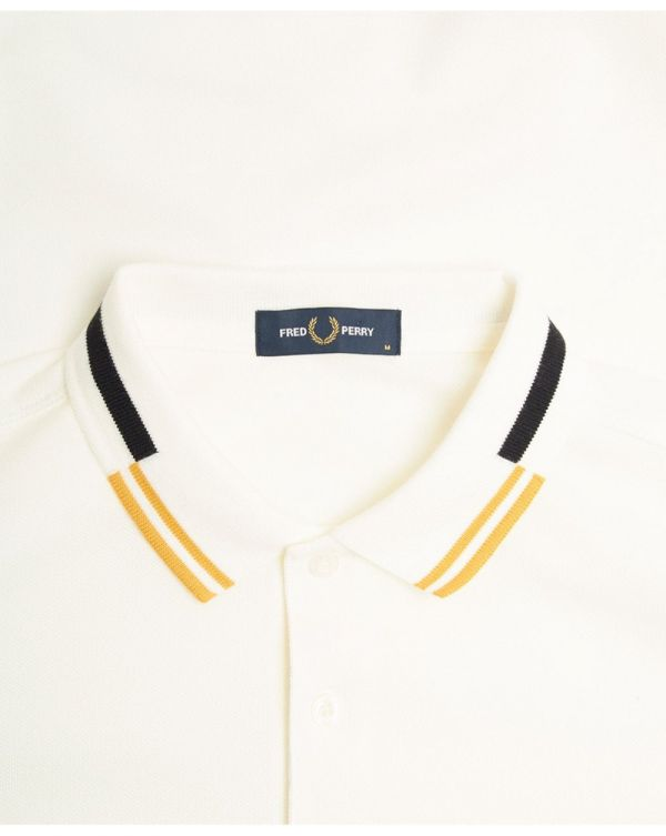 Abstract Tipped Polo