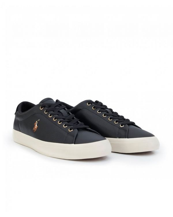 Longwood Perforated Leather Trainers