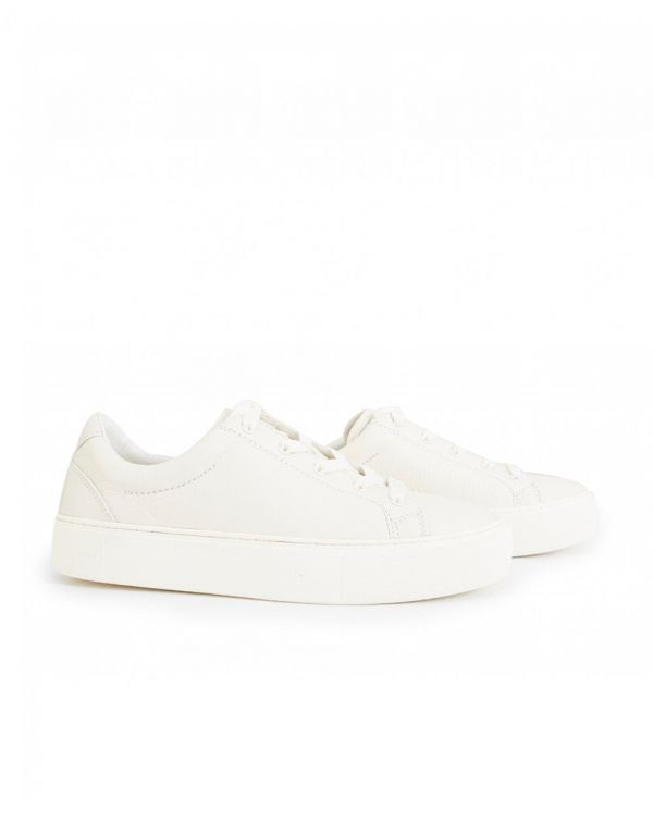 Zilo Leather Lace Up Trainers