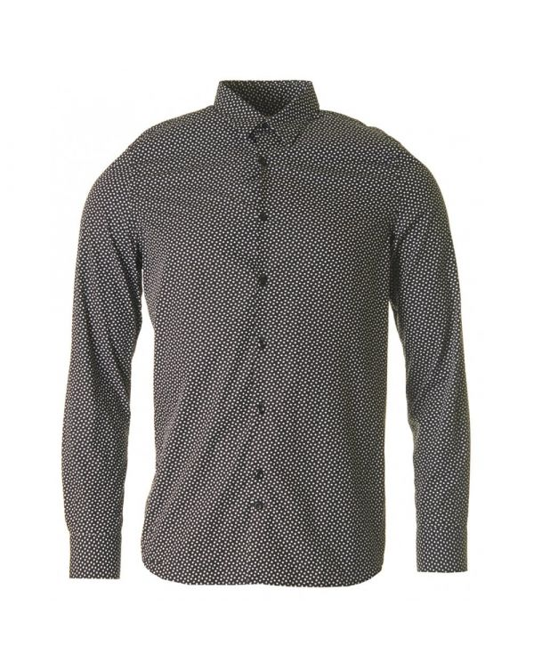 Dani Cl Black Print Patterned Shirt