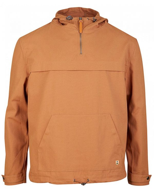 Quarter Zip Hooded Smock
