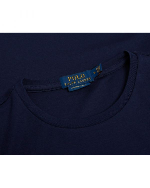 Custom Fit Pima Cotton Crew Neck T-shirt