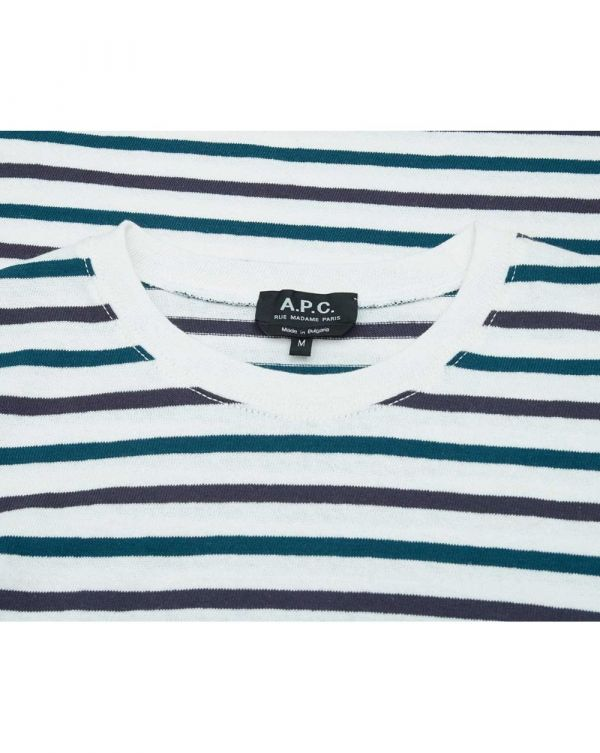 Miro Striped Crew Neck T-shirt