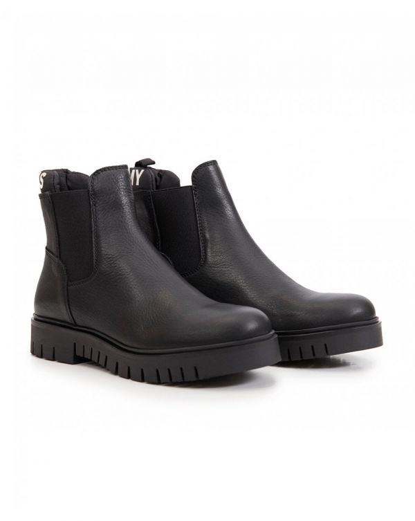 Padded Tongue Chelsea Boots