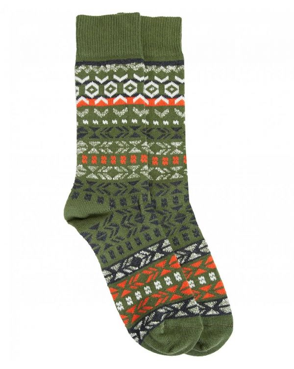 Patterned Wool Socks