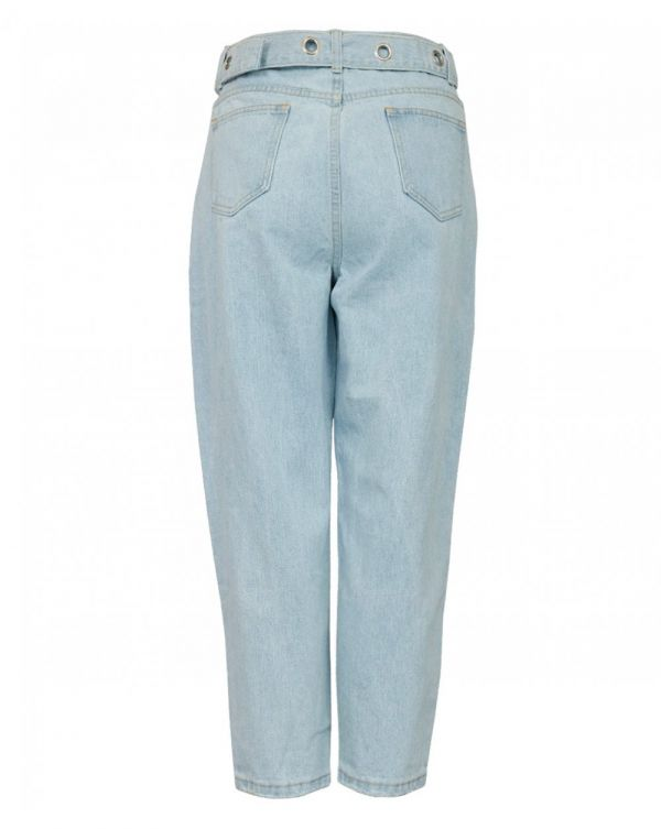 Belted Jean Trousers
