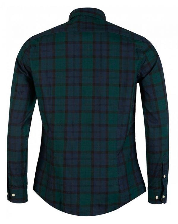 Wetheram Small Check Tailored Fit Shirt