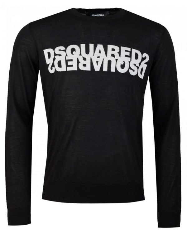 Mirror Logo Crew Neck Jumper
