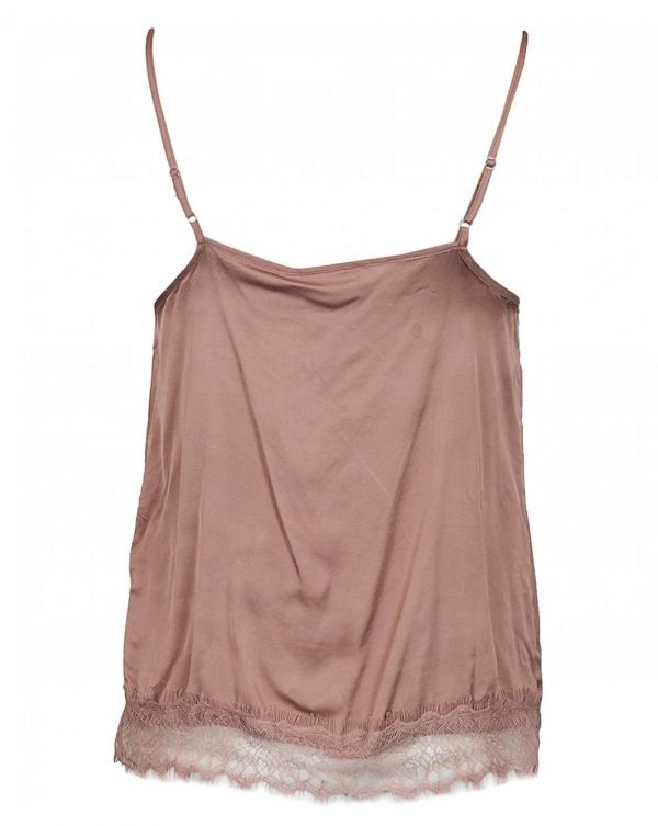 Lace Bottom Cami Top