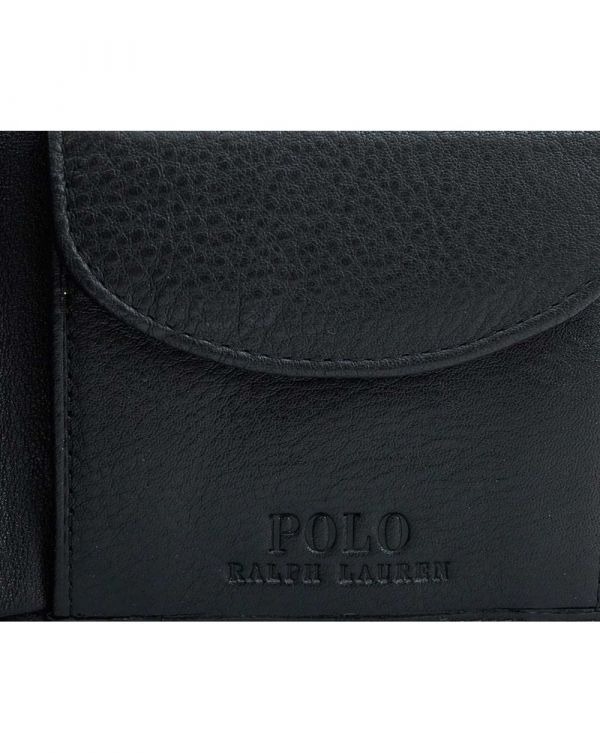 Pebble Leather Coin Pocket Wallet