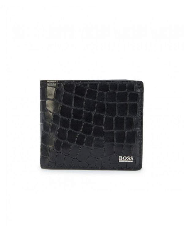 Exotic Croc Leather Wallet
