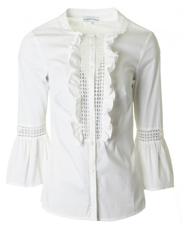 Frill Placket Shirt