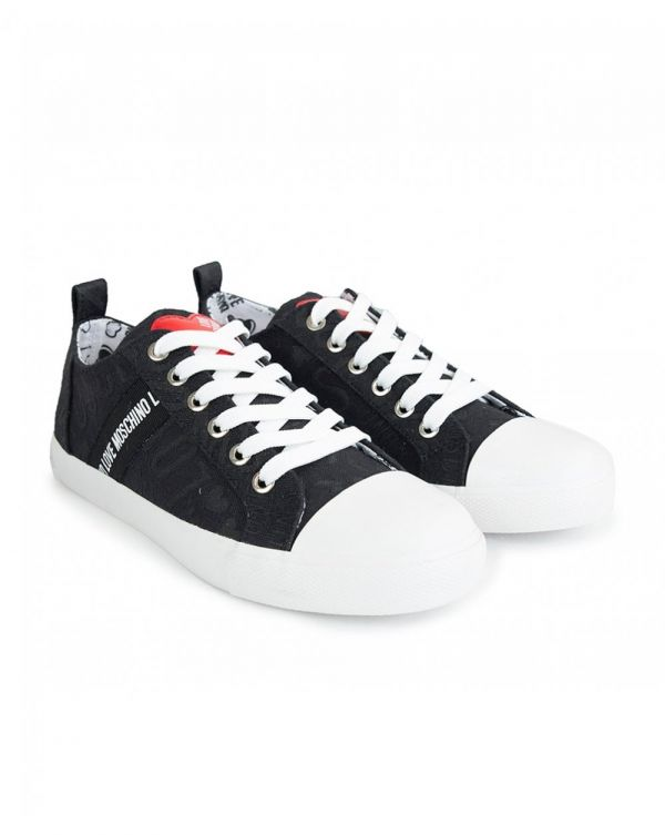 Logo Canvas Trainers