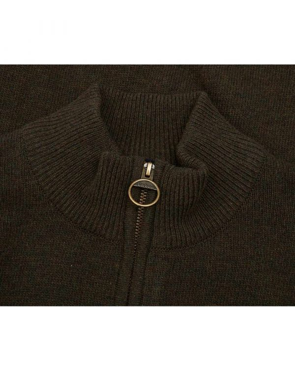 Holden Half Zip Patch Lambswool Knit