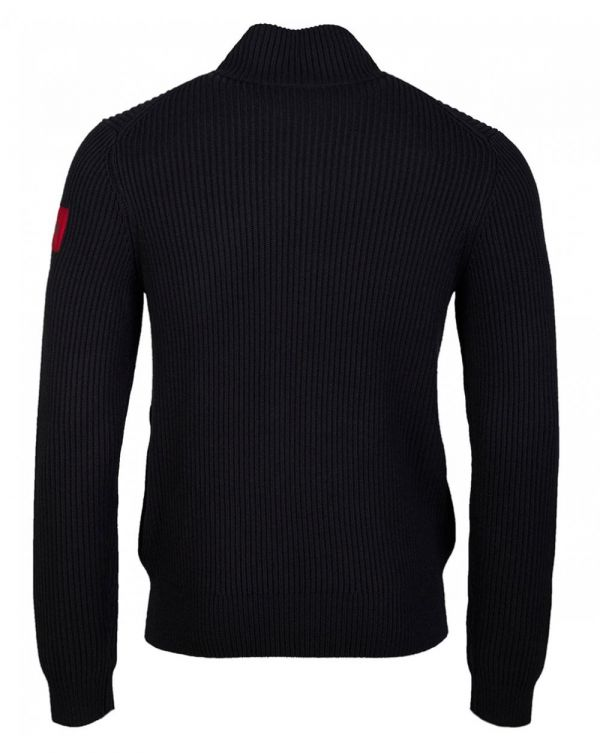 Sambre 2 Zip Through Ribbed Jumper