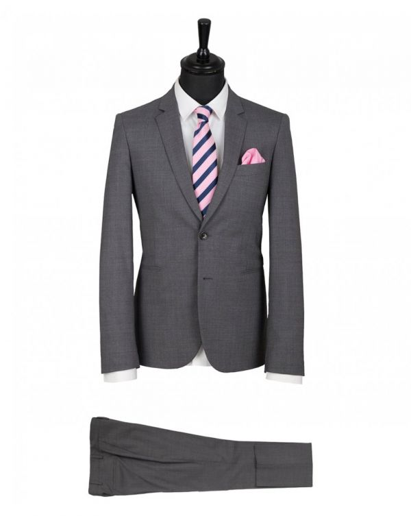 Wool Stretch Slim Fit Suit