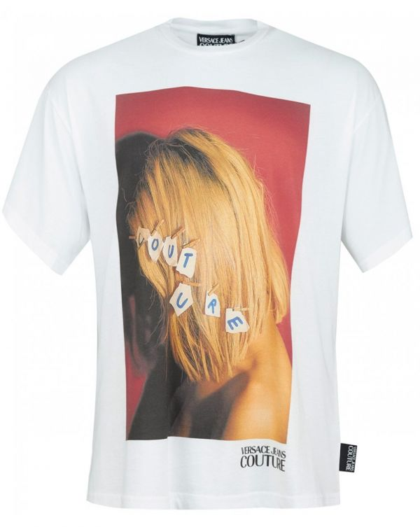 Head Photo Print Oversize T-shirt