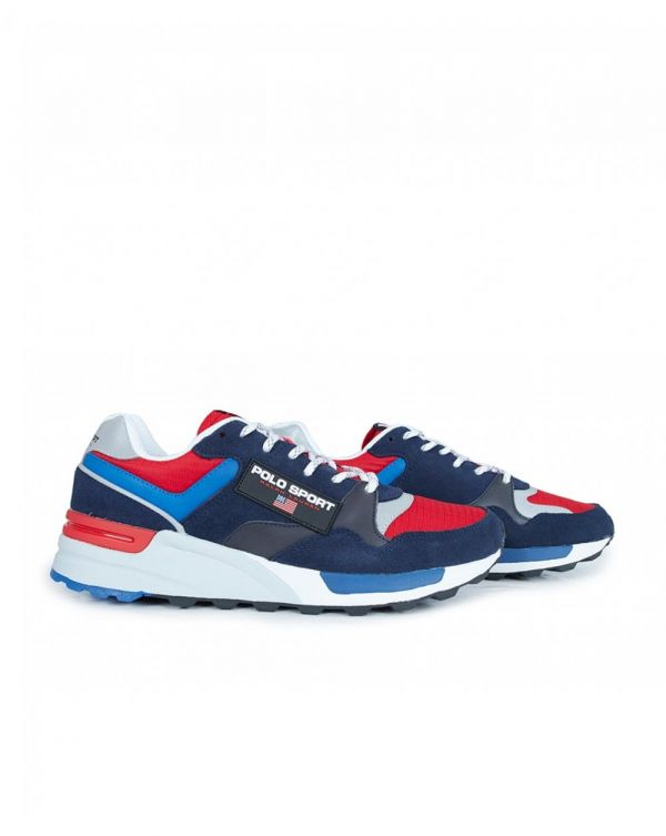 Trackstar Polo Sport Leather Trainers