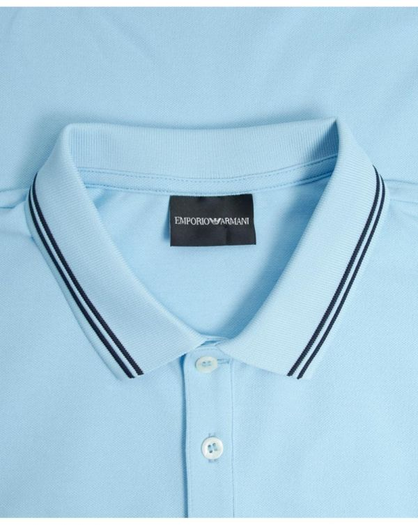Slim Fit Tipped Logo Polo