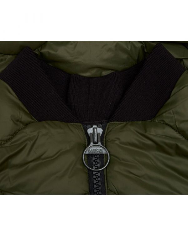 Synon Snake Quilted Jacket