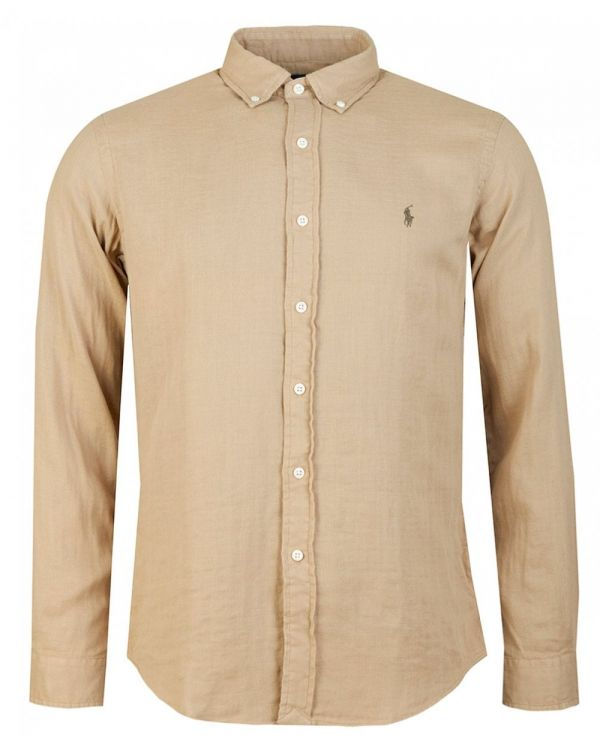 Custom Slim Fit Double Face Oxford Shirt