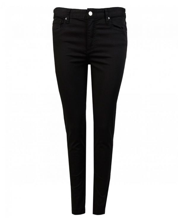 Sateen Cropped Jeans