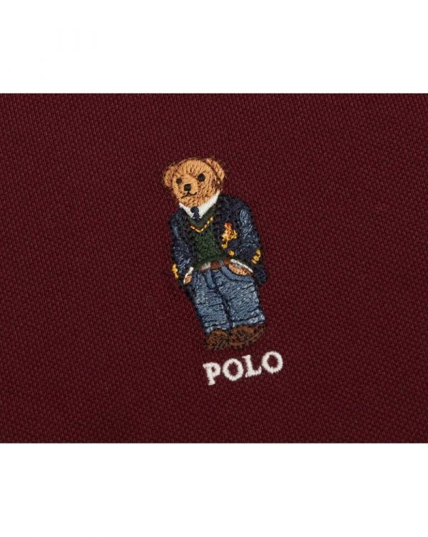Custom Slim Fit Polo Bear Polo Shirt