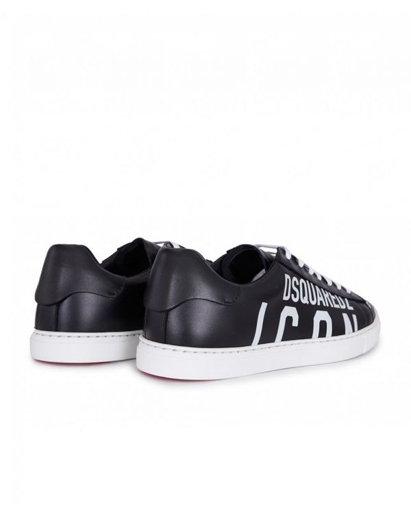 New Icon Leather Trainers