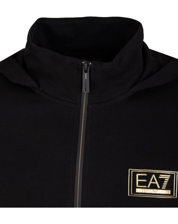 Train Gold Label Zip Through Hooded Top