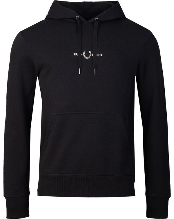 Embroidered Hooded Sweat